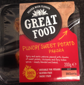 Great Food Punchy Sweet Potato Pakora