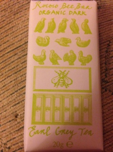 Rococo Bee Bar - Organic Dark Earl Grey Tea Chocolate Bar