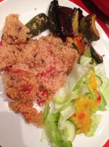 Grill Veggie Quinoa