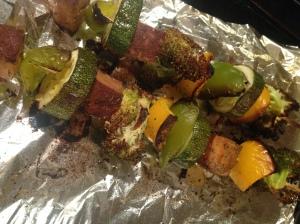 Veggie & Tofu Skewers