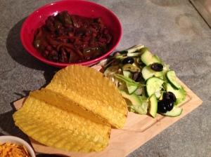 Vegetable Taco