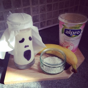 Halloween Ghost Yogurt