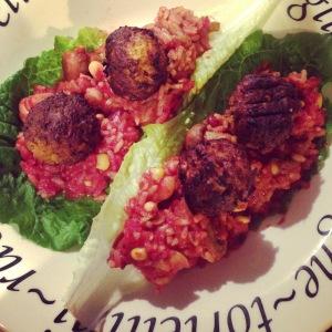 Great Food UK Moroccan Falafels