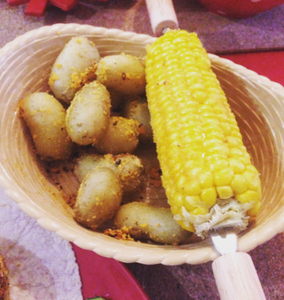 Potatoes & Corn